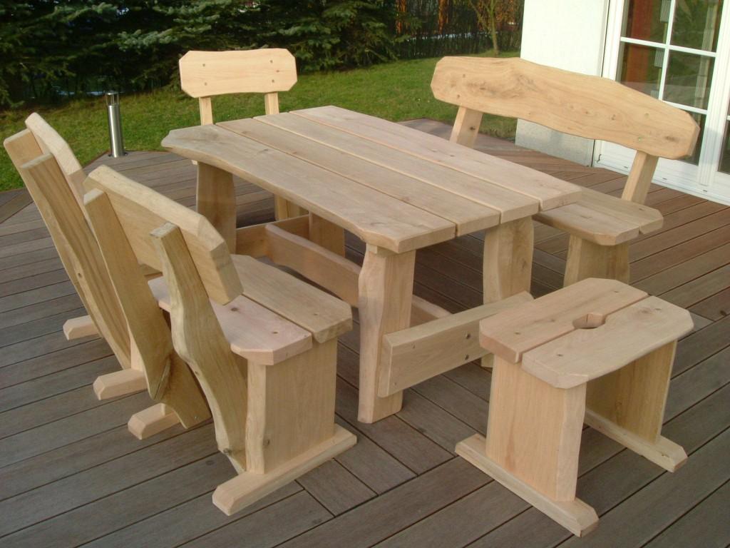 Rustikale Gartenmobel Schwache Ausfuhrung Die Holzfabrik