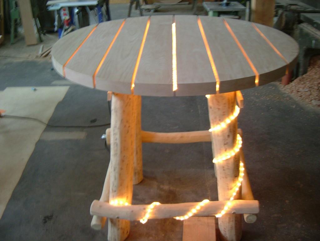 rustikale gartenmöbel (schwache ausführung) | die holzfabrik, Esszimmer dekoo