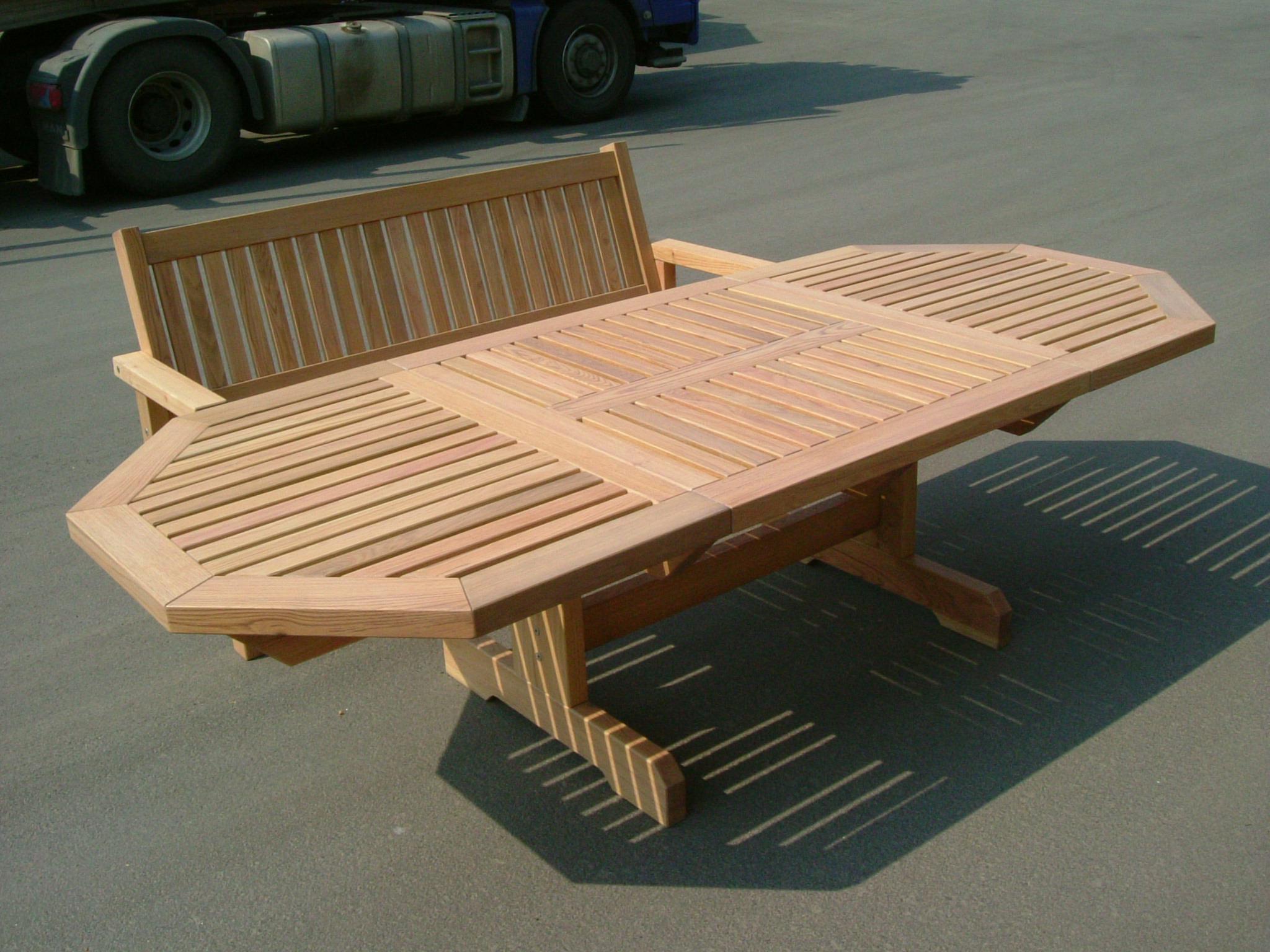 Massivholz Gartenmobel Aus Eiche Die Holzfabrik